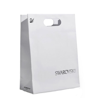 Matt Laminated Printed Paper Bags With Die Cut Handles