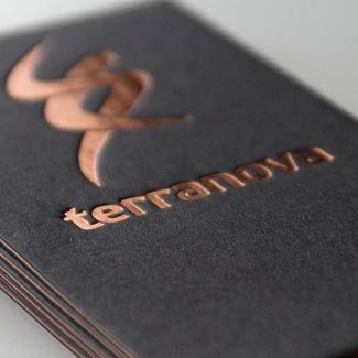 Bronze Hot Foil Stamping Paper Bags Amp Printed Paper Bags